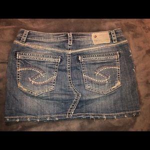 Silver Jeans Skirts - 1 HrSale 🚨Like new! Silve Co. Jean jacket